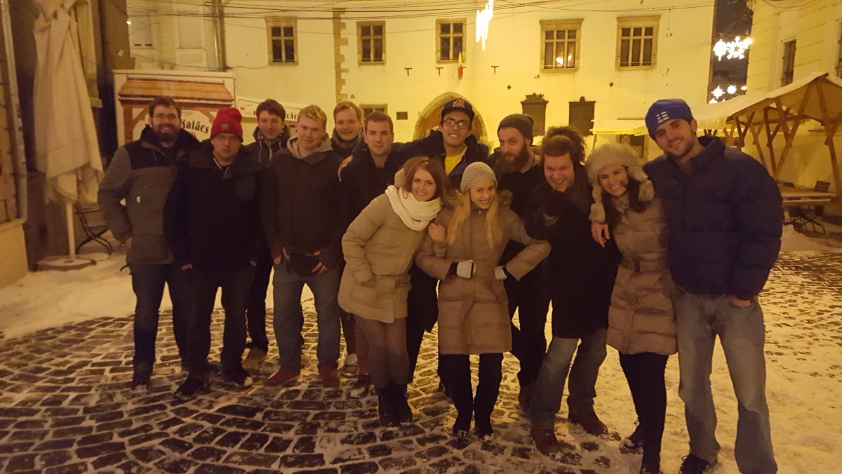 Going out with Transylvania Hostel in Cluj (1)
